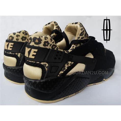 leopard sneakers nike nike air huarache mens running shoes black leopard