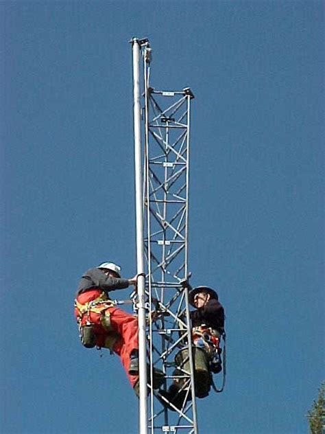 antenna tower sections race rocks update feb 22 2000