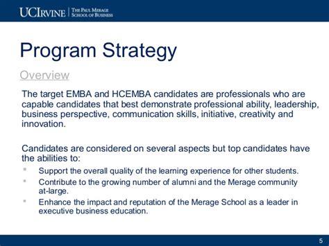 Mba Marketing Programs by Exle 2 2010 11 Uci Merage Exec Programs Marketing