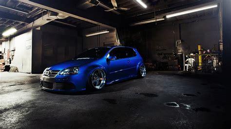 tuner cars wallpaper volkswagen golf r32 car wheels tuning hd wallpaper