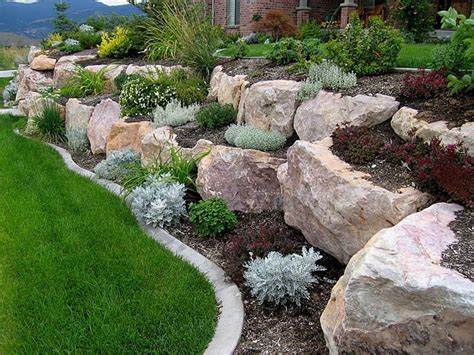 Rock Garden With Potted Plants Rock Garden Container Gardening Ideas Chsbahrain