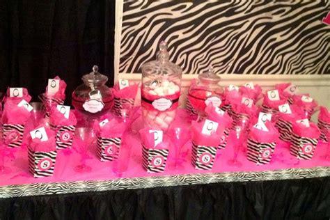 party themes ladies pink zebra theme ladies night party ideas photo 5 of 6