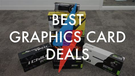 graphics cards black friday deals we expect and discounts