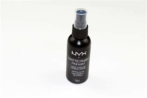 Nyx Finish Matte nyx matte finish makeup setting spray reviews in setting