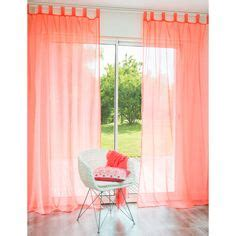 coral colored sheer curtains 1000 ideas about coral curtains on pinterest curtains