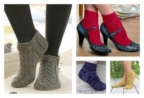 knitted ankle socks patterns free free knit ankle sock patterns