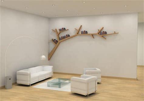 stylish and simple tree branch bookshelf digsdigs