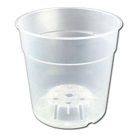 Clear Plastic Planters clear plastic planter 4 5 quot