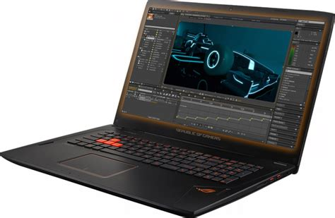 Laptop Asus Prosesor Amd asus rog strix gl702zc laptop launched with amd ryzen 7 cpu rx580 gpu