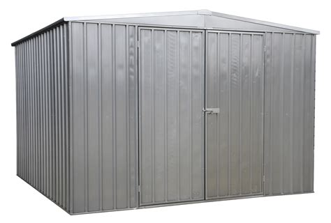 Galvanised Steel Shed galvanized steel shed 3 x 3 x 2 1mtr sealey gss3030