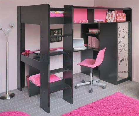 Merveilleux Lit Pour Petite Chambre #4: Lit-mezzanine-girly-glam-et-rock-occasion-20151016085819.jpg