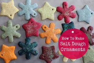 How to make salt dough ornaments fun easy and makes a great