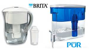 brita vs pur water filters which is better