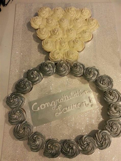 Wedding Ring Cupcakes by Ring Cupcake Cake Weddings Bridal Shower