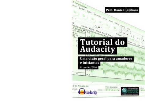tutorial video audacity tutorial do audacity