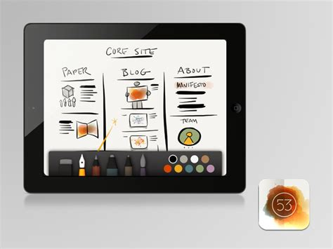 design app for ipad pro 23 essential ipad apps for web designers and developers