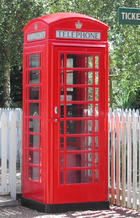 Telephone Box k6 the iconic telephone box vision