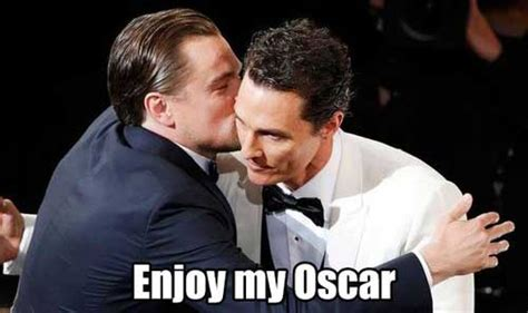 Dicaprio Oscar Meme - the best internet reactions to leonardo dicaprio not