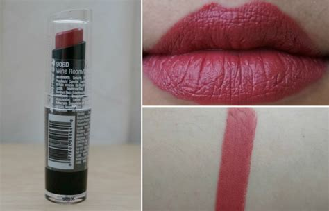 N Mega Lip Color n mega last lip color lipstick in wine room 906d review photos swatches jello beans