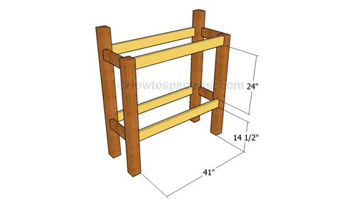 Stand Up Desk Plans Howtospecialist How To Build Step Stand Up Desk Plans
