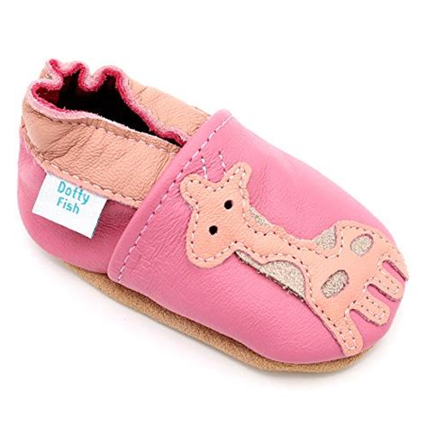 soft leather baby shoes with suede soles by dotty