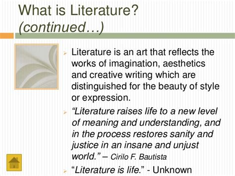 what is literature what is literature