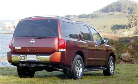 nissan pathfinder armada car and driver