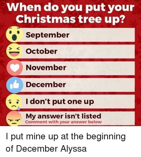 images of when can i put my christmas tree up christmas