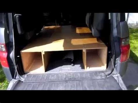 honda element bed honda element cing bed mod youtube