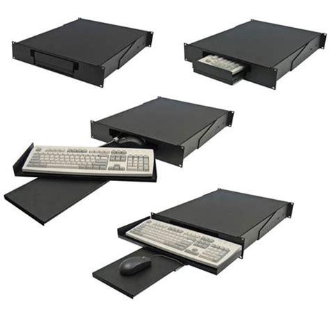 monitor keyboard mouse shelf