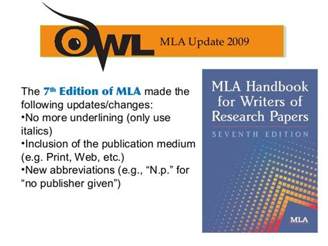 mla formatting  citation guide