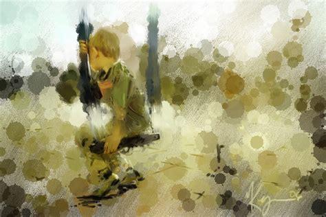 cara membuat lukisan abstrak dengan cat air tutorial desain grafis belajar membuat efek lukisan cat