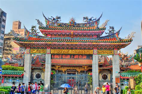 Design Your Pool by Afternoon Prayers At Longshan Temple