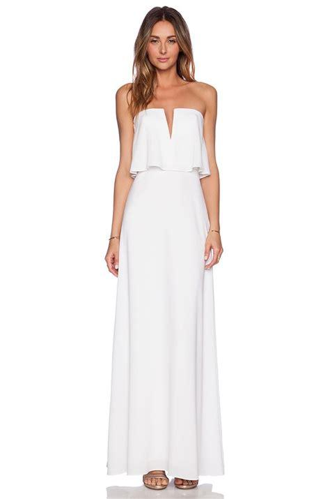 Longdress White this alyse dress bcbgmaxazria revolveclothing my
