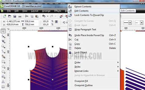 cara desain baju futsal di komputer cara membuat desain baju kaos futsal gradasi warna