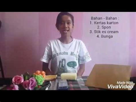 youtube membuat es cream cara membuat vas bunga dari stik es cream youtube