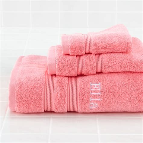 pink bathroom towels kids towels and baby washcloths the land of nod