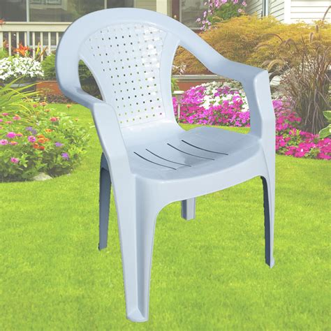 plastic outdoor chair garden plastic chair white stackable chair patio outdoor
