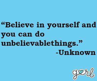 teen girl inspirational quotes