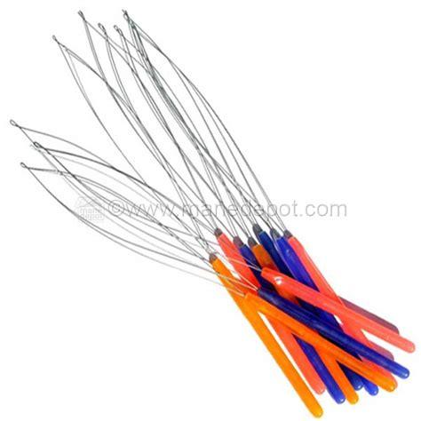 bead threader for hair bead loader hair extension attachment threader manedepot