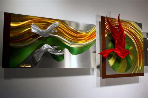 metal home decor wilmos kovacs original metal wall sculpture abstract