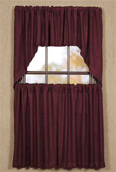 burlap swag curtains burlap merlot window curtain swag