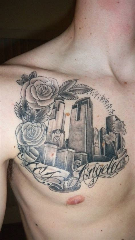 la skyline tattoo los angeles picture at checkoutmyink