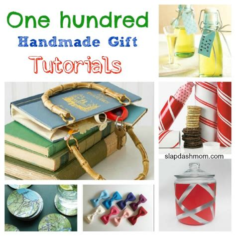 Handmade Crafts Tutorials - diy crafts 100 handmade gift tutorials