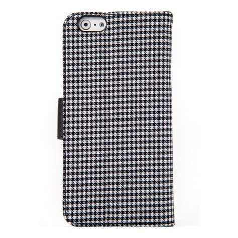 Melkco Pu Western Series For Apple Iphone 6 5 5 iphone6s 6 ケース pu western series diary black checked melkco iphoneケースは unicase