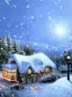 moving christmas cabin photo animated christmas cottage gif rozhdestvenskie kartinki