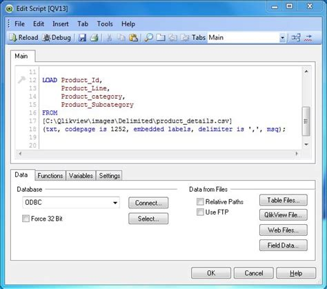 qlikview tutorial qvw qlikview delimited file