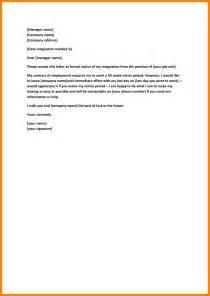 11 resignation letter 30 days notice nurse homed