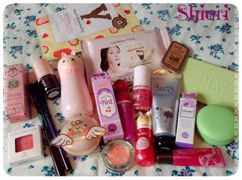 Harga Tony Moly Babyface Drop Tint And Cherry Lip Balm big korean make up haul