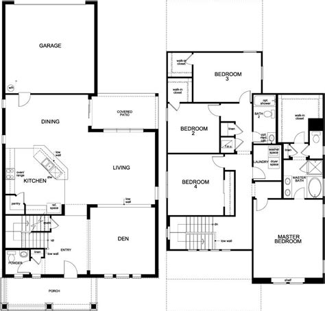 pictures of floor plans to houses kb homes floor plans fresh kb homes floor plans modern